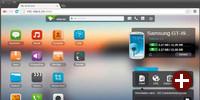 Datenaustausch über den Browser