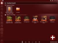 Suche mit Ergebnissen der Shopping-Linse in Ubuntu 12.10