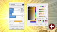 Supernova-Effekt von GEGL 0.3 in GIMP-Entwicklungsversion