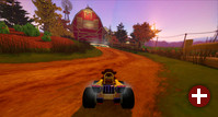 SuperTuxKart 0.9.3: Cornfield Crossing