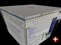 Der Desktop mit dem Dreh - Xgl