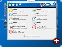 Softwareinstallation unter SymphonyOS mit OneClick