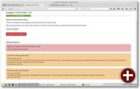 Systemcheck vor der Typo3-Installation