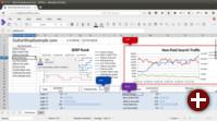 Tabellenkalkulation von Collabora Online 2.1