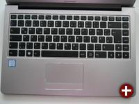 Tastatur des InfinityBook Pro 13