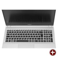 Tastatur des Tuxedo InfinityBook Pro 15 v4