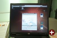 Tatsächlich! HP-Notebook mit Ubuntu!