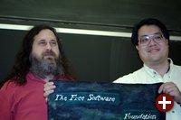 Richard Stallman und Theodore Ts'o