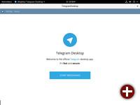 Telegram als Flatpak