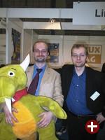 Thorsten (KDE), Oliver (LinuxTag)