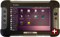 Trimble Yuma mit Ubuntu Linux 10.04 LTS