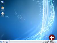 Trinity-Desktop 14.0.1 von der Kubuntu-Live-CD