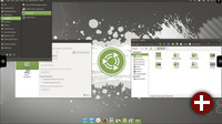 Ubuntu MATE 17.10 Cupertino-Layout
