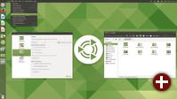 Ubuntu MATE 17.10 Unity-Layout