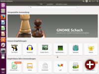 Ubuntu Software, ein umbenanntes Gnome Software