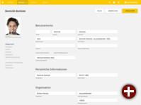 UCS 4.2: Ansicht eines Benutzerkontos im Portal