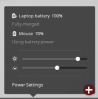Überarbeitetes Energieverwaltungs-Applet von Linux Mint 17.2