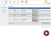 Ulteo OVD v3.0, Admin-Bereich