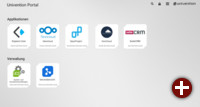 Univention-Portal in Univention Corporate Server 4.2