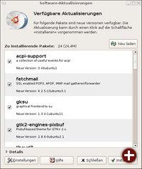 Software-Aktualisierungen à la Ubuntu