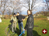 Bei den Dreharbeiten des OpenSource-Films Valkaama