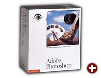 Verkaufsbox von Photoshop 1.0