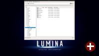 Verzeichnisbaumansicht im Dateimanager Insight von Lumina 1.3