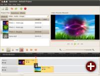 Videoeditor OpenShot