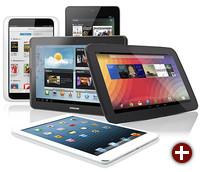 Viele Tablet-Rechner enthalten PowerVR-Grafikprozessoren