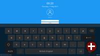 Virtuelle Tastatur auf dem Sperrbildschirm in Plasma 5.10