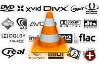 VLC unterstützt fast alle Formate