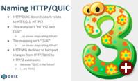 Von HTTP/QUIC zu HTTP/3
