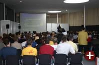 Vortrag von Georg Grave (FSFE) zum Thema Softwarepatente