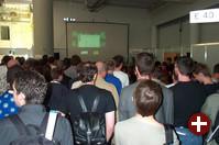Während des Security Contest war das Forum zu klein, um allen Interessenten Platz zu bieten.