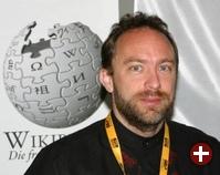 Jimbo Wales, Gründervater von Wikipedia