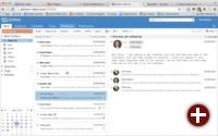 Web-Client der Zimbra Collaboration Suite 8