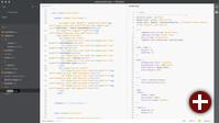 Web-Editor Brackets unterstützt Split-View