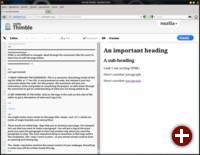 Web-Editor Thimble