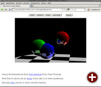 WebGL bringt OpenGL in den Browser
