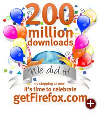 Firefox feiert