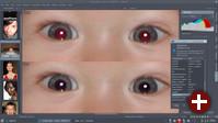 Werkzeug zur Reduktion des Rote-Augen-Effekts in Digikam 5.2
