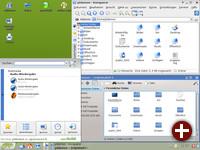 Wieder mit von der Partie: KDE3 - Konqueror contra Dolphin