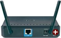 WLAN-Access-Point am LAN: Können Sie zur Funknetzerweiterung diese Option wählen, sollten Sie diese dem Einsatz eines Repeaters vorziehen