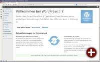 Wordpress 3.7 kann sich selbst aktualisieren
