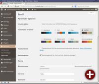 Wordpress 3.8 mit Farbschemata für das Admin-Dashboard