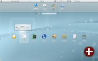 Workspace der Netbook-Variante von Plasma