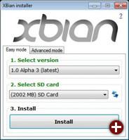 XBian Installer
