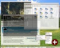 Xfce 4.4.0 mit Transparenz