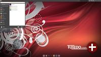 Xfce-Desktop in Ubuntu 16.04 LTS mit Anpassungen von Tuxedo