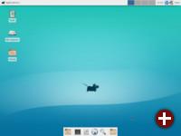 Neben KDE liefert Slackware Xfce als Desktop mit